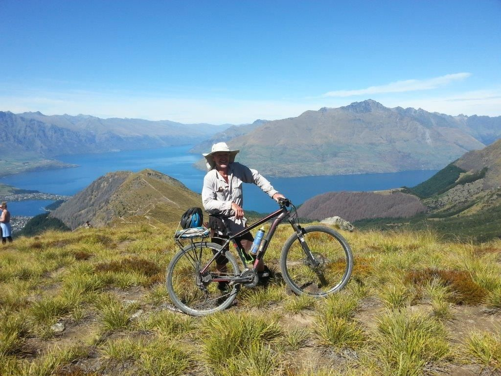 As far as the bike goes up Ben Lomond.jpg