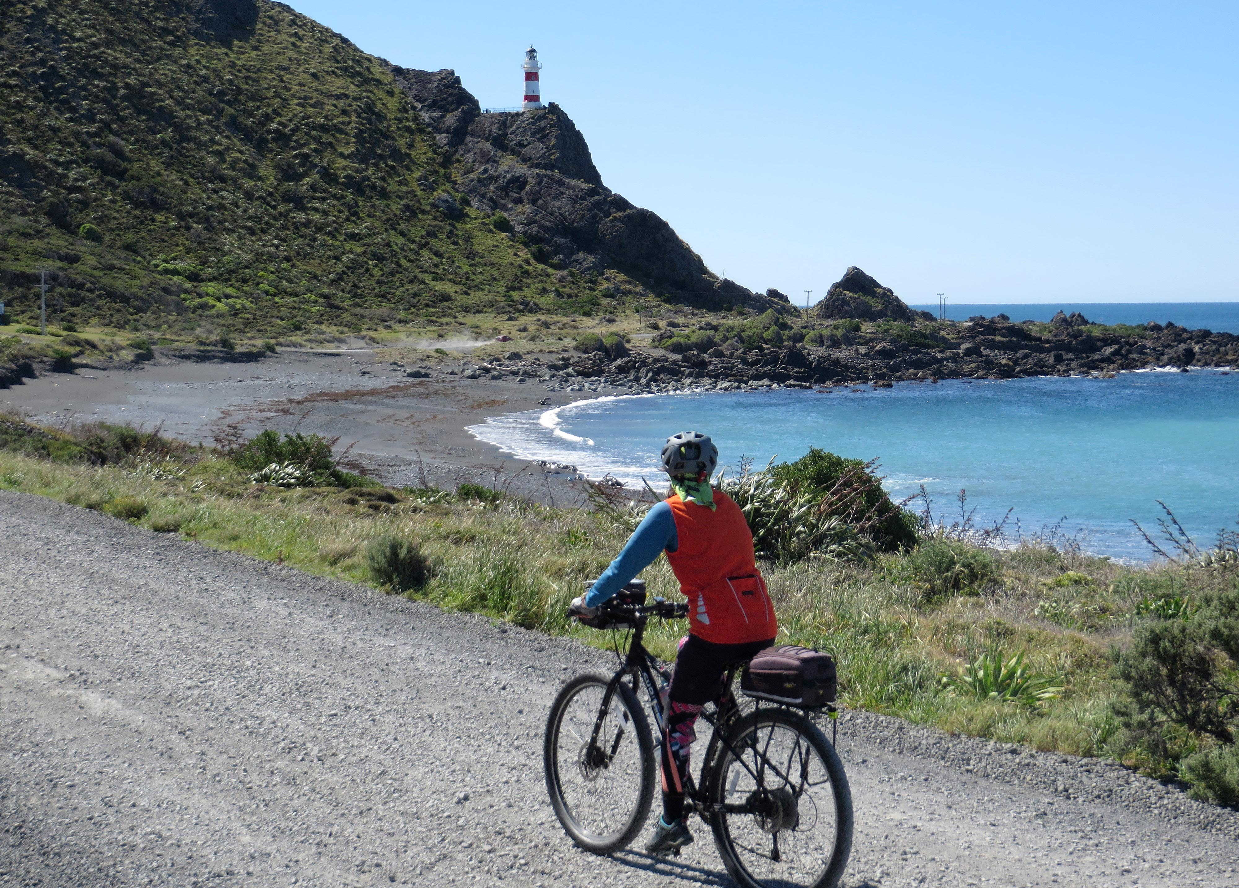 Louise heading for Cape Palliser